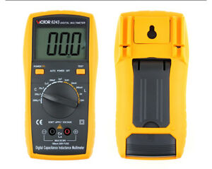Victor Vc6243 Digital Multimeter Ohm Lc Inductance Capacitance Alarm
