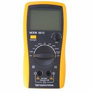 Vc6013 Lcd 3 1 2 Digital Multimeter Lcr Capacitor Capacitance Meter Up To 20mf