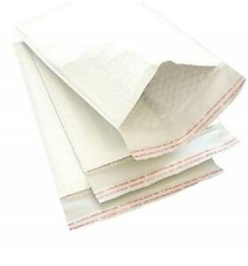 300 1 7 25x12 Kraft Bubble Mailers Self Sealing Padded White Envelopes