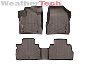 Weathertech Floorliner Car Mats For Nissan Murano 15 17 1st 2nd Row Cocoa