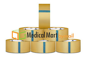288 Rolls Clear Carton Sealing Tape Packing Package Box 2 5 Mil 2 x110 Yds 330ft