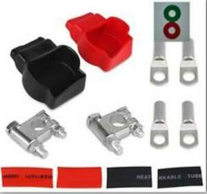 Military Style Zinc Alloy Battery Terminal Top Post Kit And With Covers