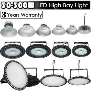 300w 250w 200w 150w 100w Ufo Led High Bay Light Factory Warehouse Gym Lighting