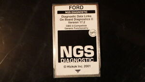 Rotunda Ford Ngs Black Obdii Card Bw11