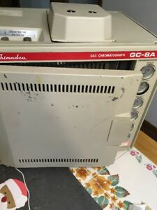 Shimadzu Basic Gas Chromatograph Graph Model Gc 8a Untested Sold As is