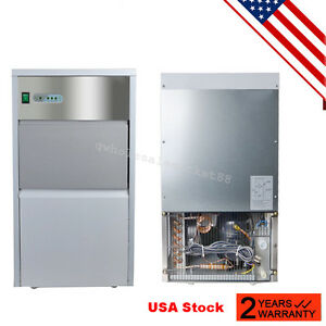 from Usa stainless Steel Commercial Ice Maker Restaurant Ice Cube Machine