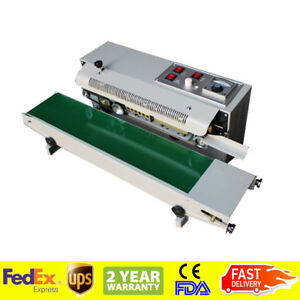 Automatic Horizontal Continuous Plastic Bag Band Sealing Sealer Machine Warranty