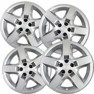 Hubcaps Fits 2007 2010 Pontiac G6 17 Inch Silver Replacement Wheel Cover Rim