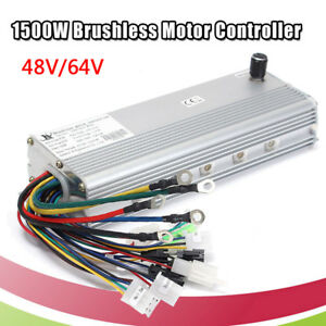 Dc 48 64v 1500w Brushless Motor Controller For E bike Scooter Electric Bicycle