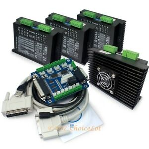 Cnc Kit 4 Axis 4x Ma860h Stepper Driver 2 6a 7 2a With 5axis Breakout Board