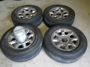 20x8 Ford Super Duty F250 F350 Wheels And Michelin A t2 Tires
