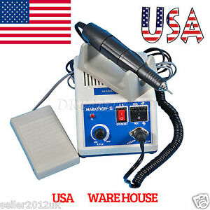 Electric Dental Marathon Machine Micromotor 35k Rpm Motor High Speed Handpiece