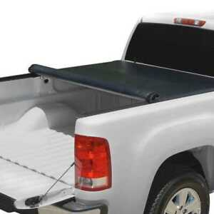 5 6ft Bed Rubber Sealed Lock Roll Soft Tonneau Cover Fits 07 14 Toyota Tundra