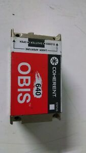 Coherent Obis Continuous Wave Lasers 640 P n 1185055 100mw 180mw
