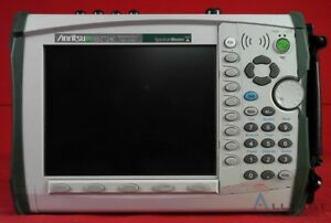 Anritsu Ms2724c Portable Spectrum Analyzer 9khz To 20ghz