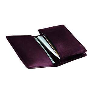 Royce Top grain Nappa Leather Executive Business Card Case