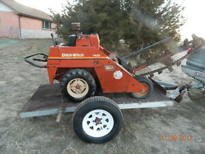Ditch Witch 1420 Trencher With Trailer