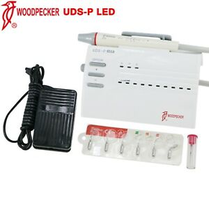 Woodpecker Dental Ultrasonic Piezo Scaler Uds p Led Handpiece Ems 110v 220v