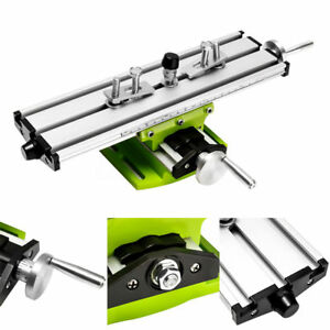2 Axis Diy Milling Compound Working Table Cross Sliding Bench Drill Vise Fixture