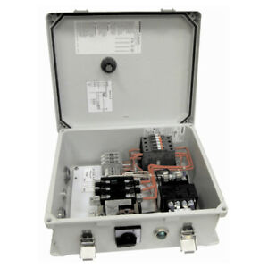 Multiquip Cb14 460 volt 60 Hz Magnetic Start Overload Guard Control Box Gray