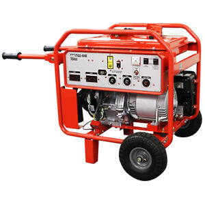 Multiquip Ga6hr 6000 watt 9 5 hp 60hz 240 volt Brushless Gasoline Generator