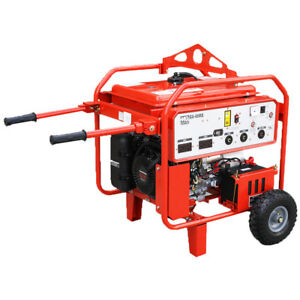 Multiquip Ga6hrs 6000 watt 9 5 hp 240 volt Electric start Gasoline Generator