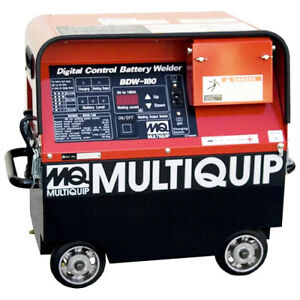 Multiquip Hdq1550hp 120 Volt 180 Amp Amaw gtaw Dc Rechargeable Battery Welder