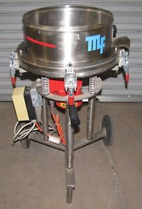 Metalfinishing Model Vpb001 Vibratory Metal Finishing Bowl 1892
