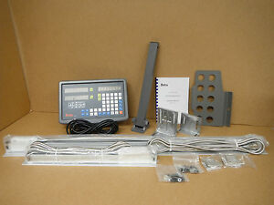 Bridgeport Mill Milling Machine 9 x 49 X And Y Axis Dro System Package New