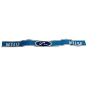 Blue Hood Decal Set For Ford 2110 Tractors