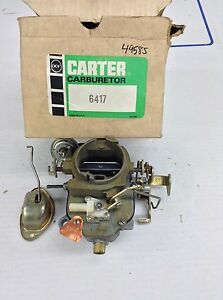 Nos Carter Bbd Carburetor 4958s 1971 Chrysler Dodge Plymouth 318 Engine