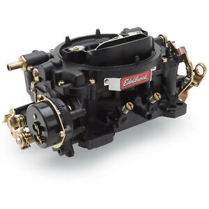 Edelbrock 14063 600 Cfm Performer Carburetor Electric Choke Black Finish