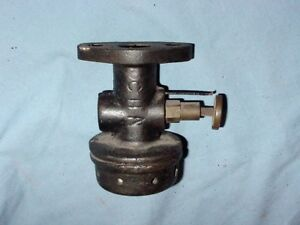 Associated United Hit Miss Gas Engine Carburetor Fuel Mixer