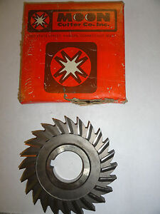 Moon 4 X 5 16 X 1 1 4 Arbor Milling Side Cutter