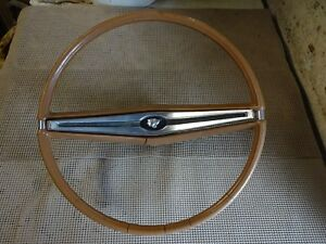 1963 Buick Wildcat Electra 225 Lesabre Estate Wagon Brown Steering Wheel