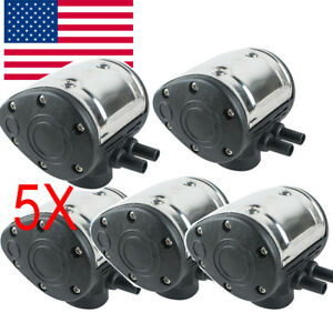 usa 5pc L80 Pneumatic Pulsator For Cow Milker Milking Machine Dairy Farm Cattle