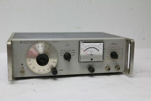 Vintage Hp 651a Test Oscillator 10 C s To 10 Mc s 200mw Output Tested
