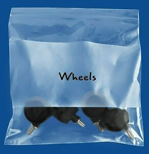 6 X 9 Plastic Bag With White Block 4 Mil Clear Reclosable Bags 10000 Pieces
