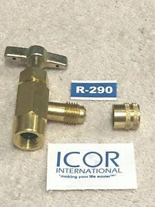 Icor International Inc R290 Can Taper Made For Icor R290 Cans Hc Vlv R290 Cap