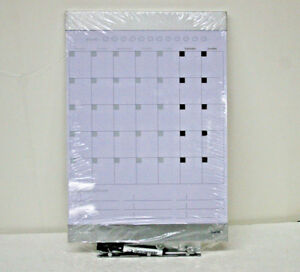 Quartet 79237 Envi Monthly Whiteboard Calendar 11 X 17 Magnetic Surface