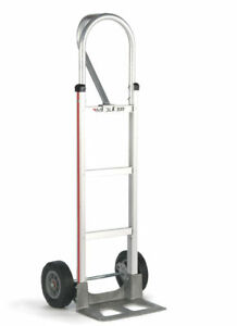 Magliner 52 Tall Hand Truck Loop Handle 14 Nose 10 Semi pneumatic Tire usa