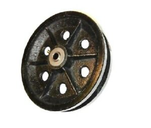 Cast Iron V groove Wheel 8 X 2 With 1 2 Id Roller Bearing 1000 Cap 820vs64