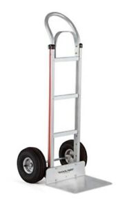 Magliner Narrow Aisle 18 Nose 10 Tire Hand Truck Npad22g2c5h 19x21
