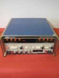 Emr Schlumberger Co Frequency Response Analyzer Model 1410 Rare Used Works