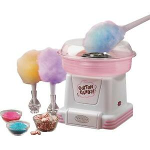 Cotton Candy Maker Machine use Hard Or Sugar free nostalgia Electrics Pcm 805