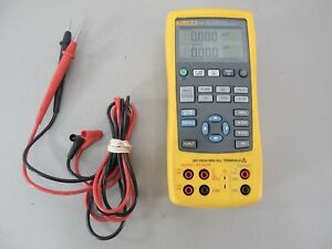 Fluke 725 Multifunction Process Calibrator Meter With Leads