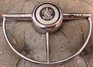 Buick Super Dynaflow Horn Ring Automobile Car Shop Home Auto Steering Decor