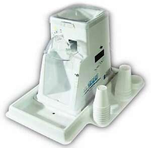 Commercial Snowie 1000 Ice Shaver Icee Snow W Sno Cone Machine Maker Concession