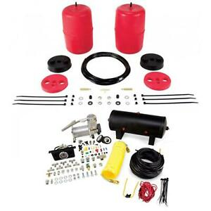 Air Lift Control Air Spring Dual Air Compressor Kit For Toyota Sequoia