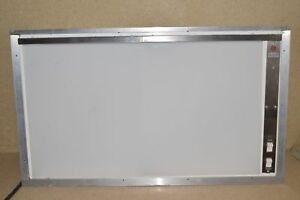 Ge General Electric Light Box X ray Viewer 16 x 28 View Area 1